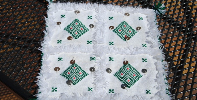 Kissenhülle aus ägyptischer Baumwolle