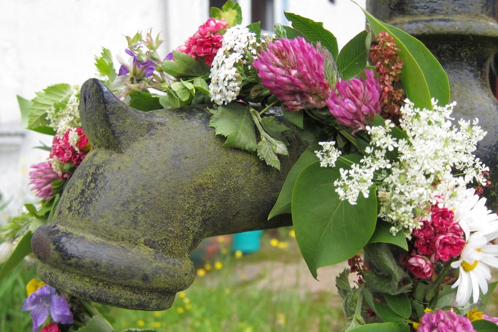 Blütenkranz für Mitsommer
