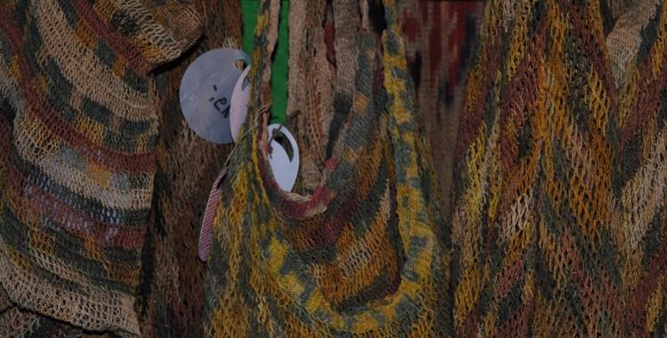 handgeküpfte Netze aus Afrika
