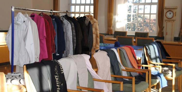 Auswahl an Hosen