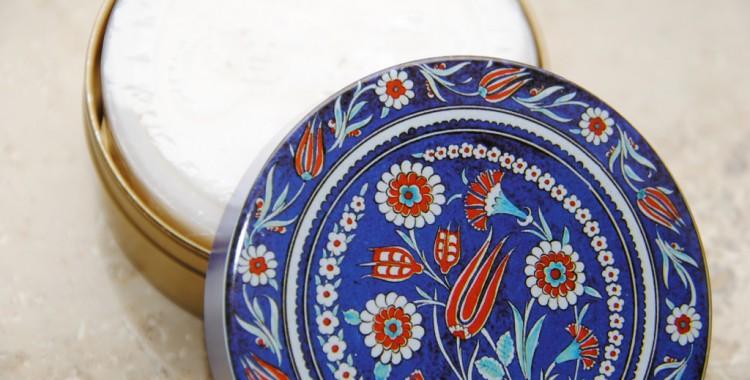 original türkische Olivenseife, gut zum Nassfilzen geeignet;
