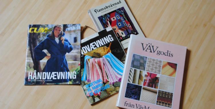 dänische Hefte zum Thema Weben