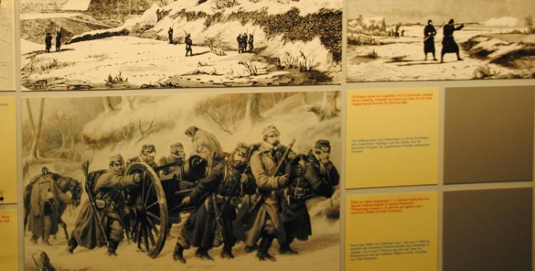 Bilder aus der Museumsausstellung inDannewerk, 2014