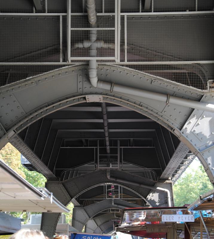 Isemarkt oben - U Bahn unten