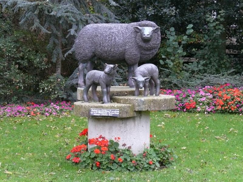 Denkmal für das Schaf