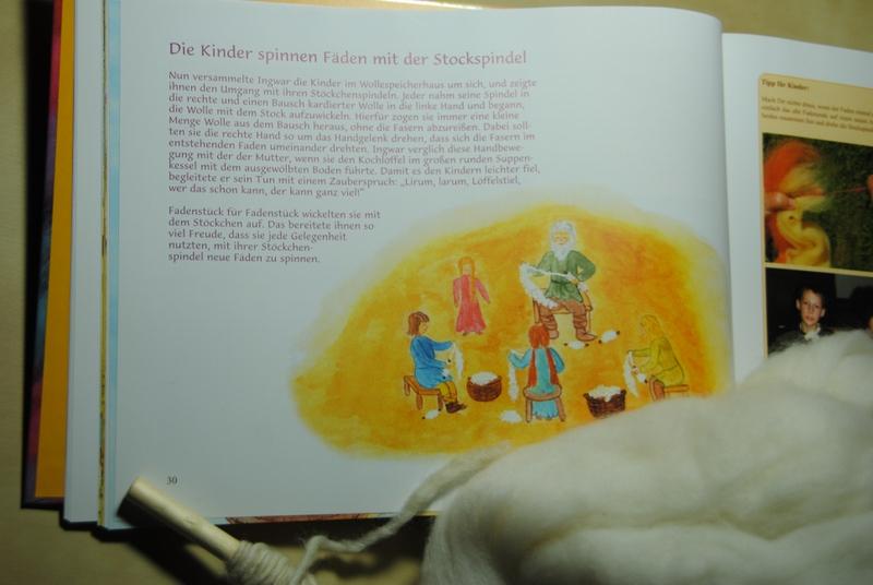 Zeichnung im Buch