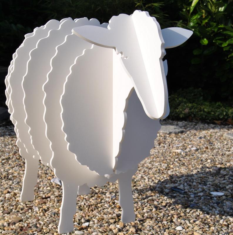 Schaf aus einer Dekoration