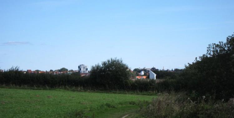 Der Weg mit dem Zielort Sonderborg