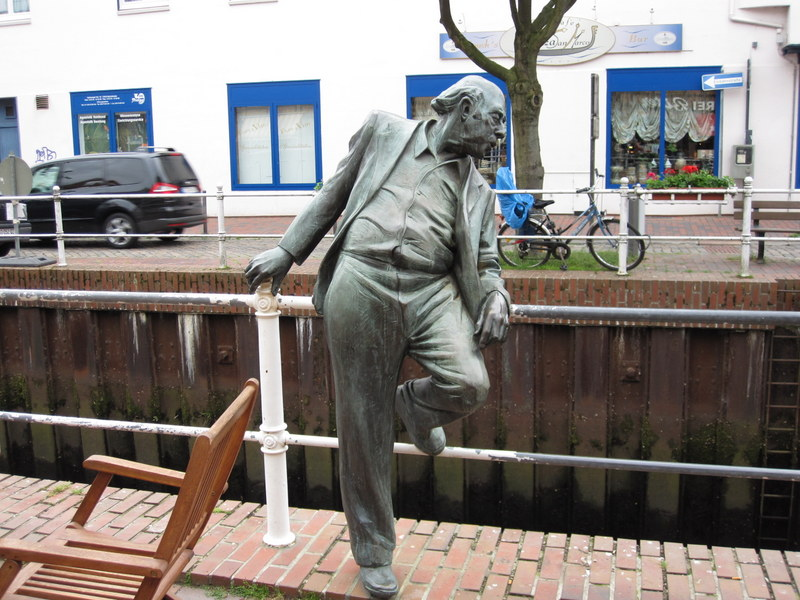 Denkmal in Buxtehude