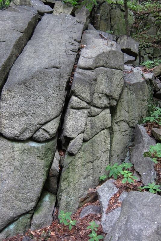 Foto einer Klippe