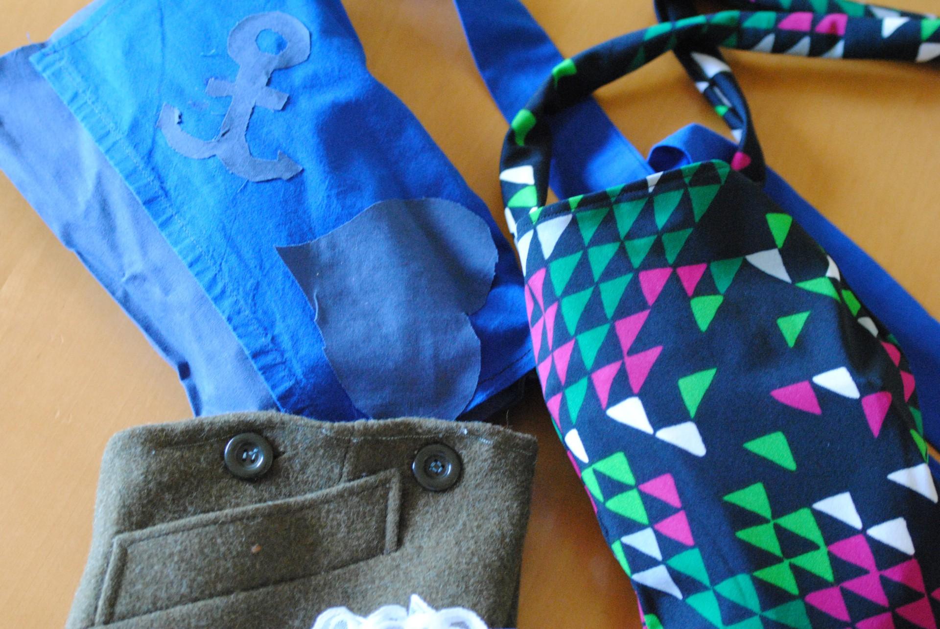 viele Taschen wurden genähtviele Taschen wurden genäht