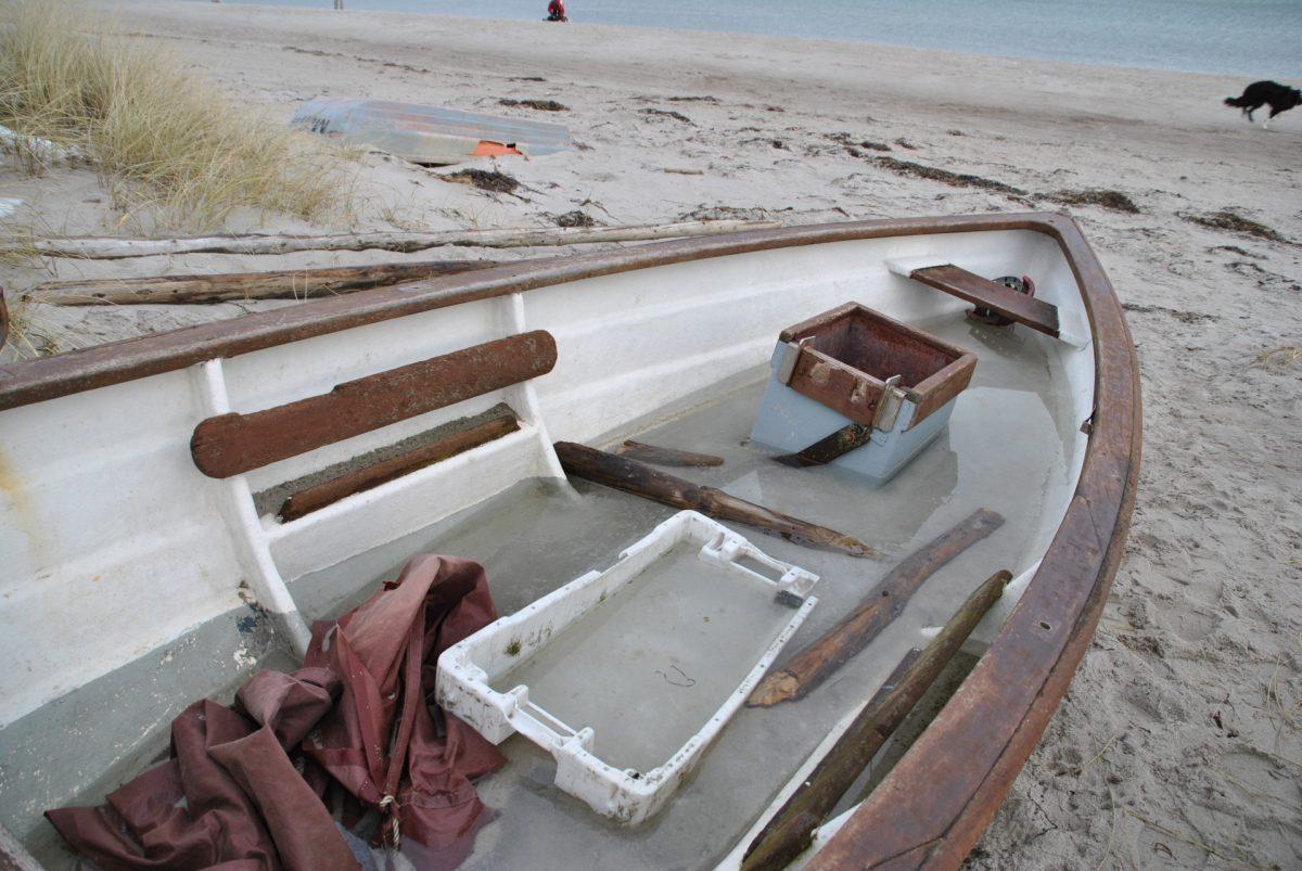 Fischerboot an der Ostsee 2010