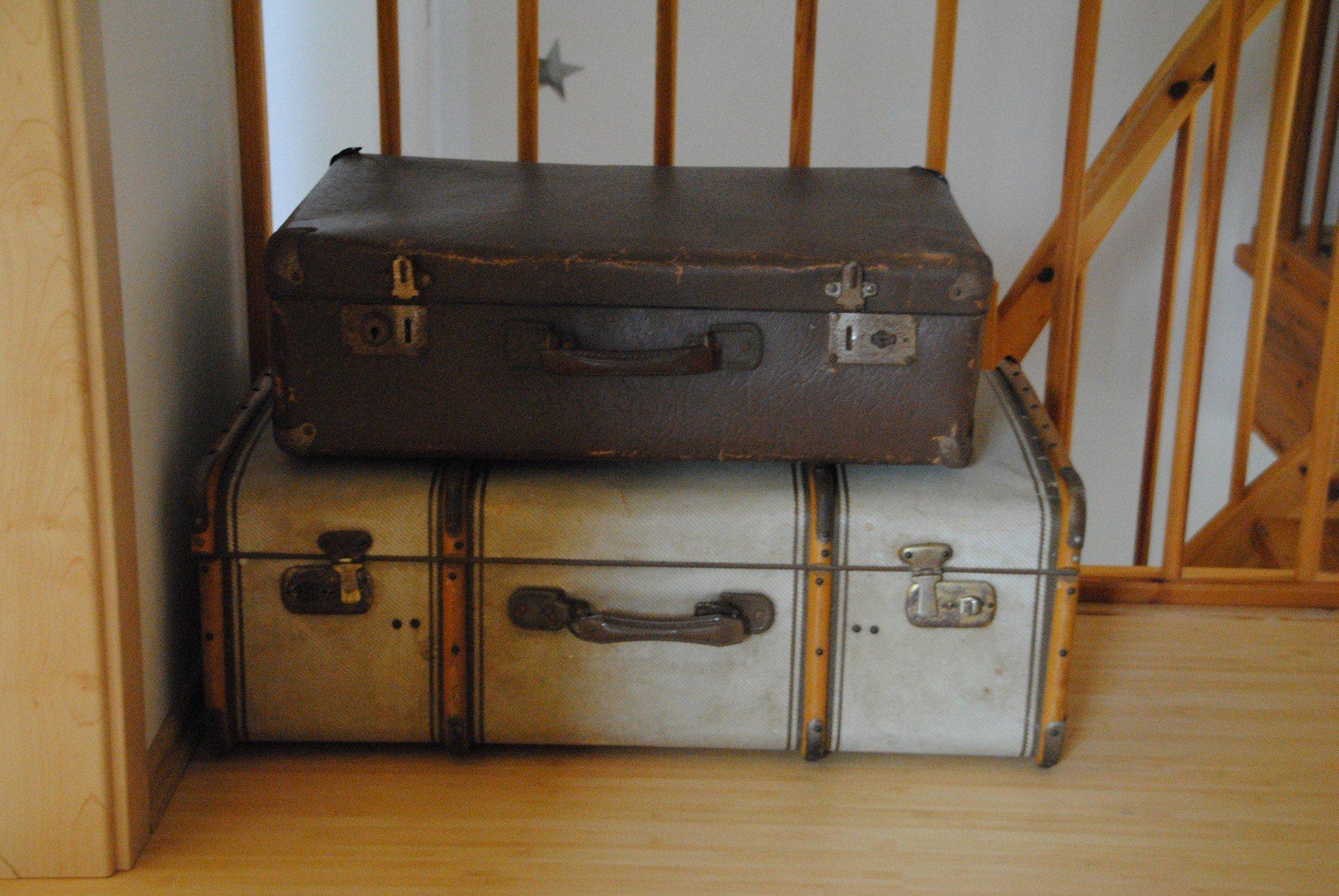 Auszug per Koffer