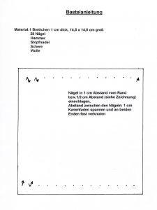 Anleitung: Weben auf dem Brett