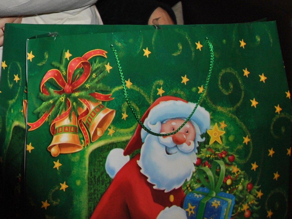 Geschenktüte zu Nikolaus oder Weihnachten