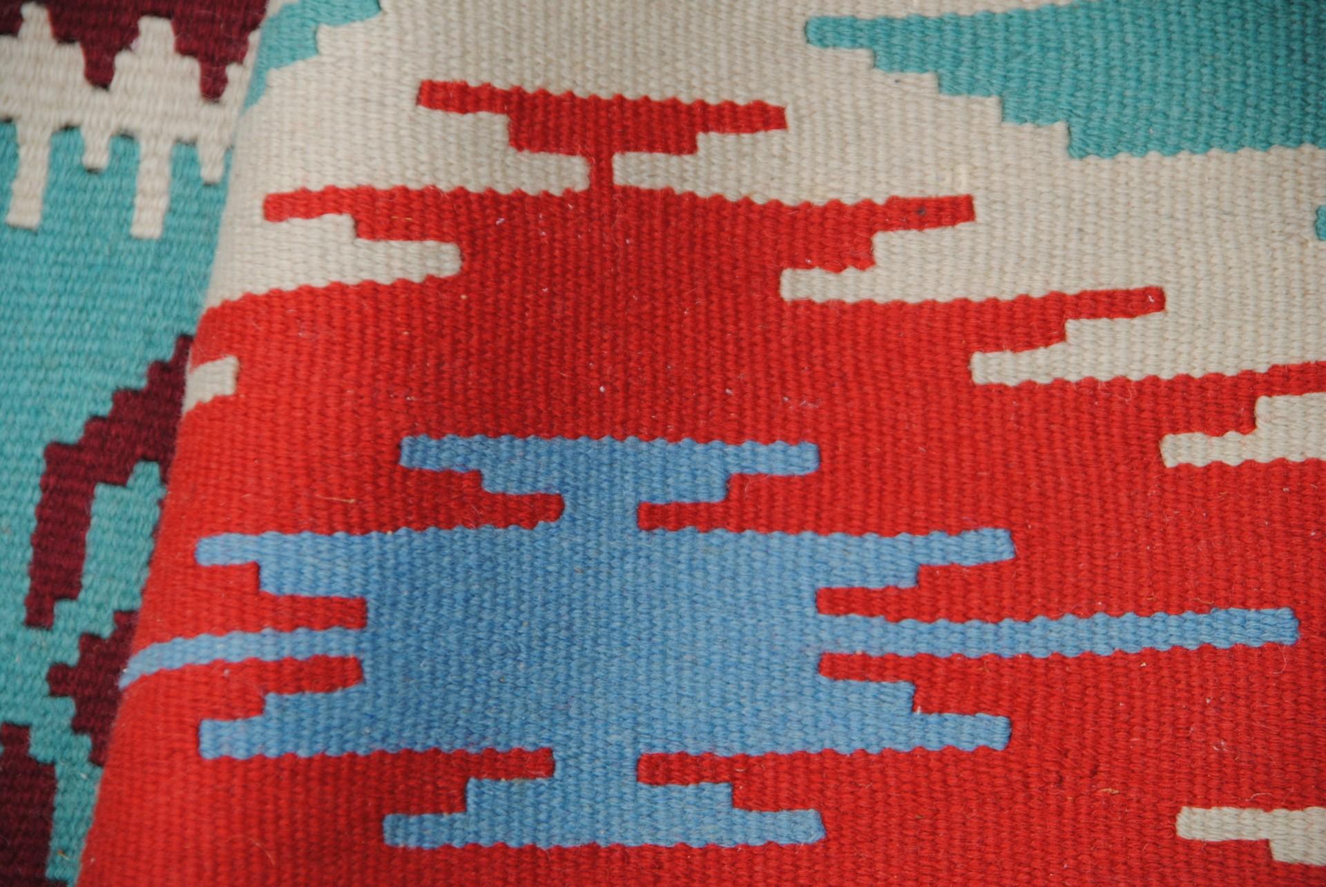 Ausschnitt aus einem Teppich