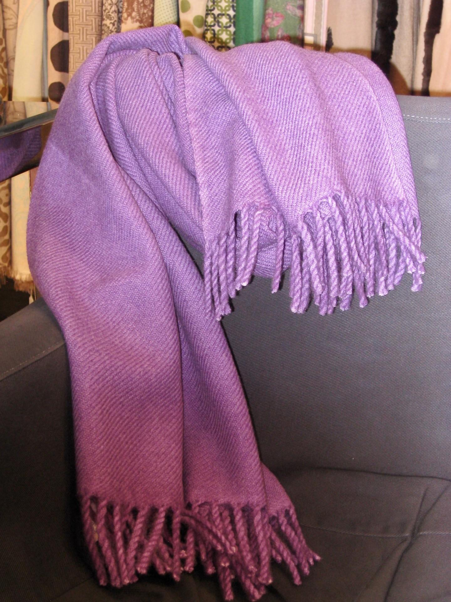 Schal aus weicher Yakwolle