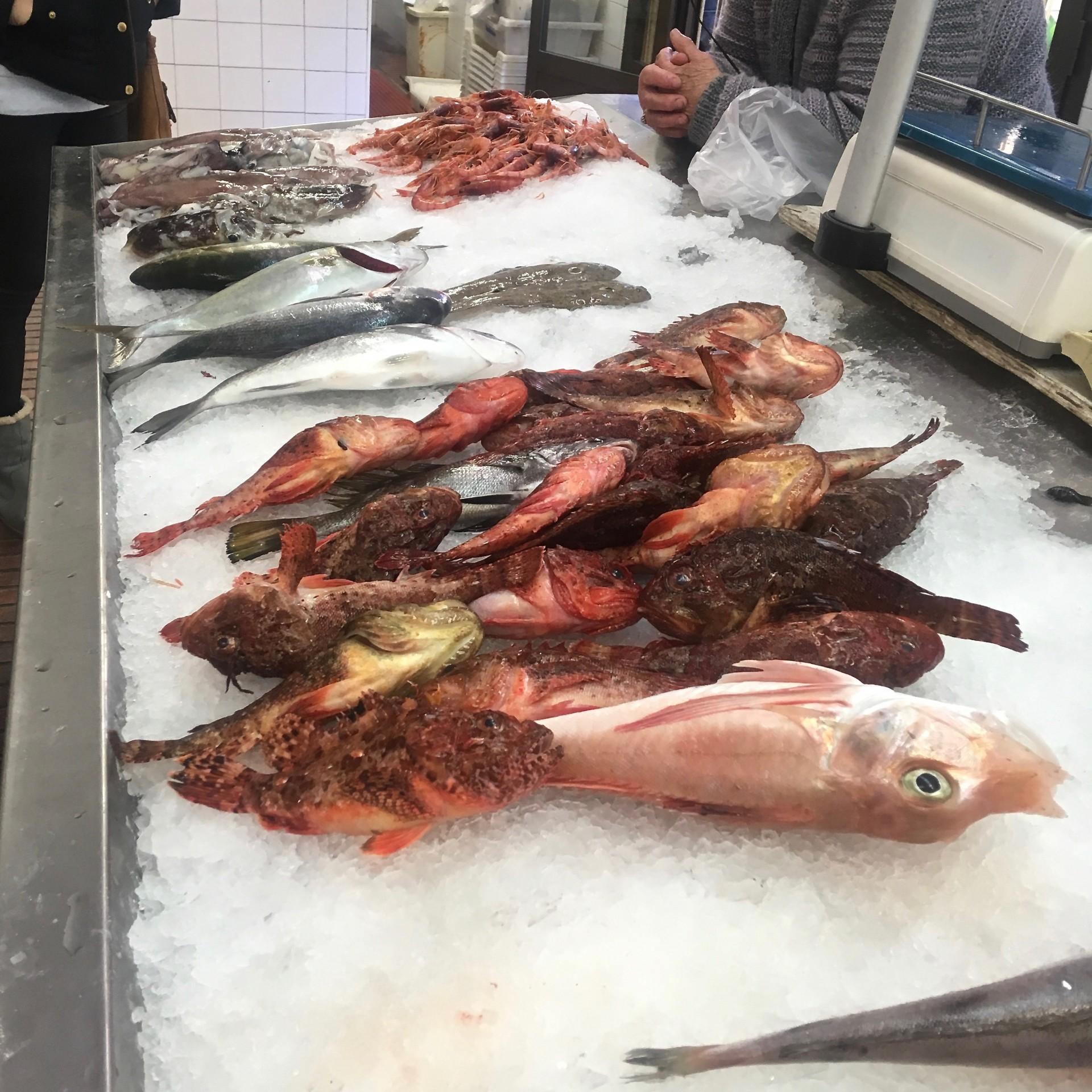 Fischgeschäft in Santanyi
