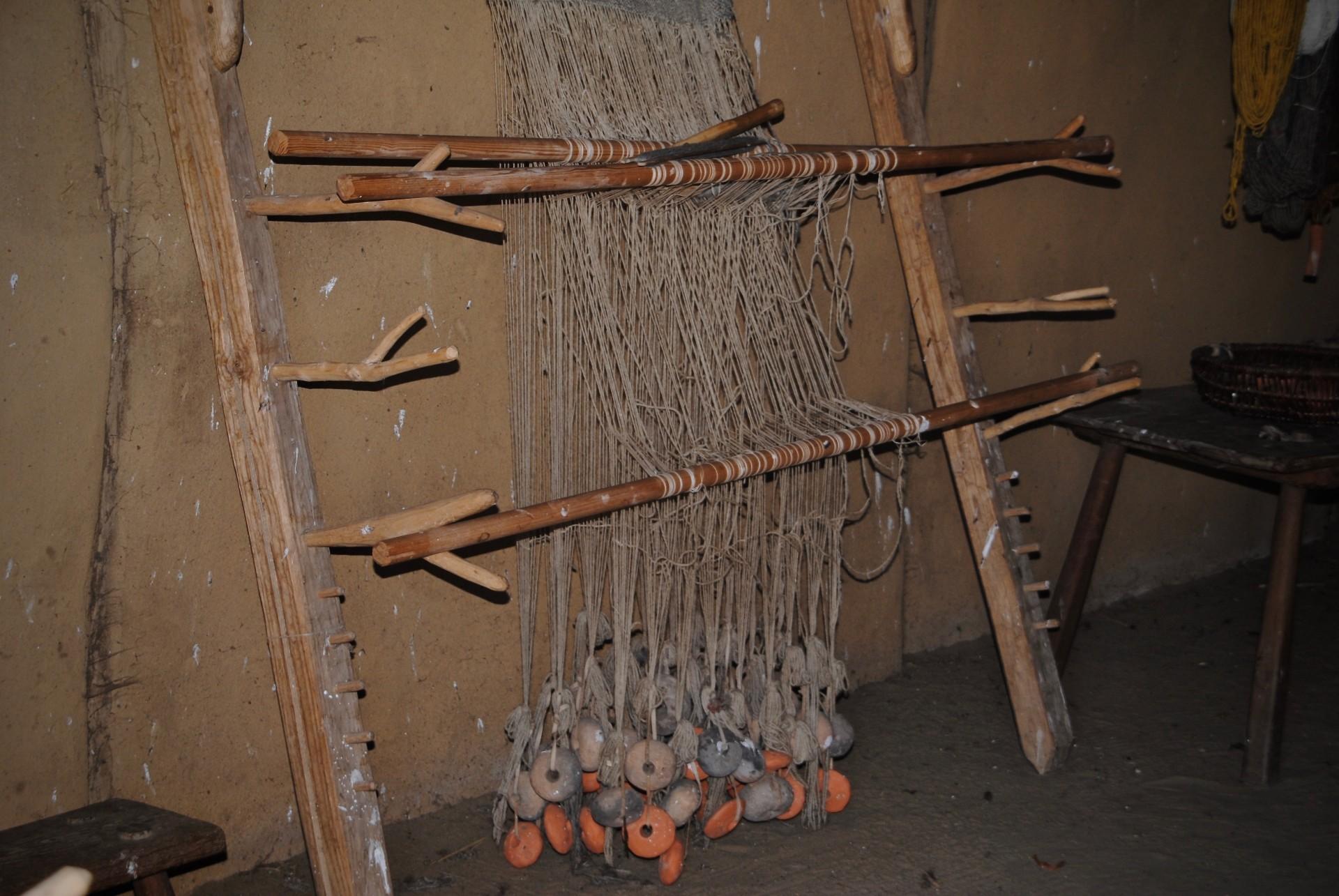 Gewichtswebstuhl Haithabu