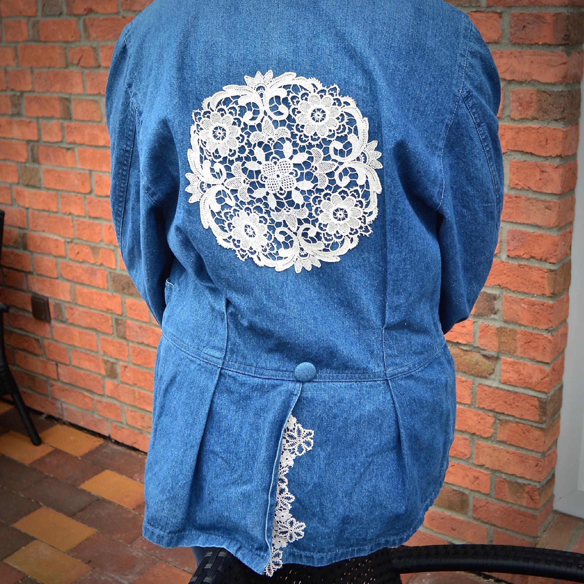 Auch andere Jeansjacken-Formen lassen sich hübsch machen