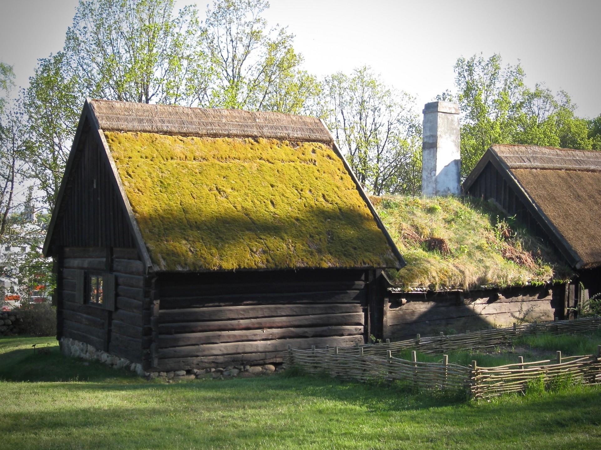 Im Freilichtmuseum Hallandsgarden, Schweden